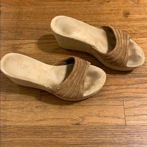 Ugg wedge sandals 6